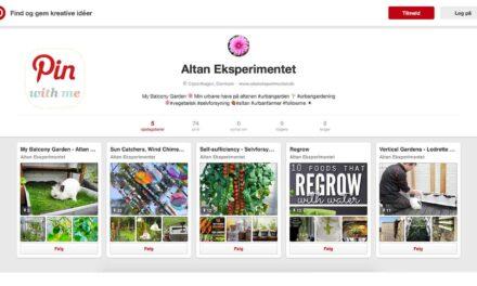 Altan Eksperimentet på Pinterest